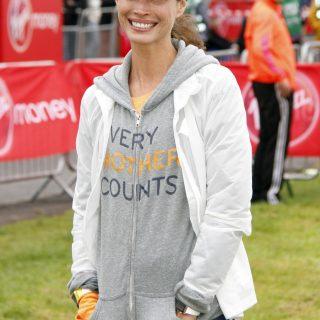 Christy Turlington, a maratonfutó modell