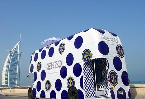 A Kenzo kisbusza az egész világot meghódította