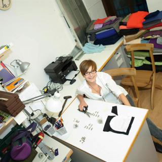 Feltörekvők: Lengyel Zsuzsi, a variálható táskák megálmodója