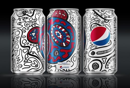 Extra dizájnos külsőt kap a Pepsi