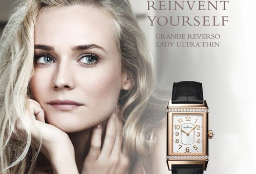 Diane Kruger luxusórákat reklámoz