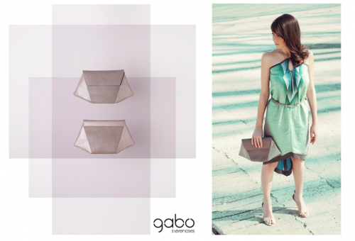 Gabo Szerencses új, bőrtáska-kollekciója