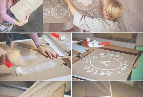 Látványos dekorálási technika: a stencilezés