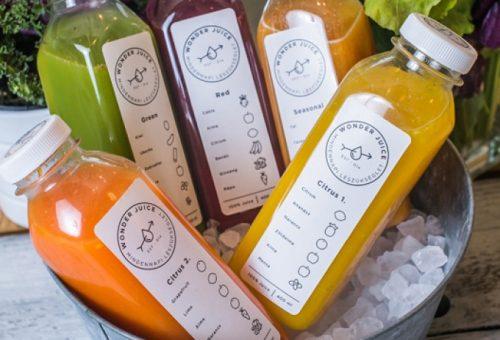 Szemkápráztató juice-ok