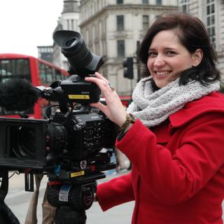 Feltörekvők: Hajagos Andrea, a Euronews tudósítója
