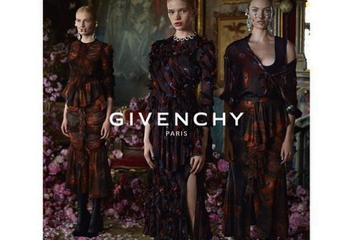 Magyar modell a Givenchy kampányában