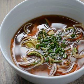 Makrobiotikus életforma és a miso leves