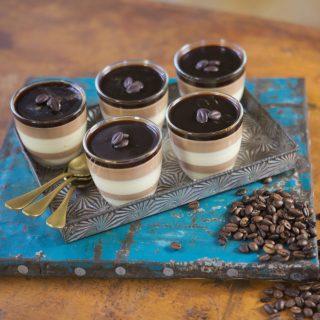 Vietnámi kávés és sűrített tejes pannacotta a fakanalas sráctól