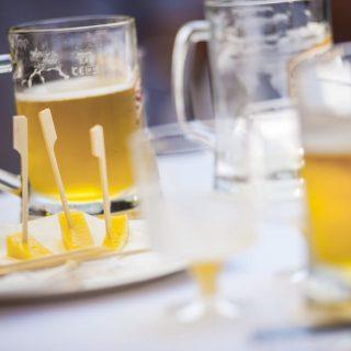 Bemutatkozott a sajt és a sör párosa