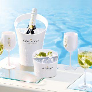 Az első jégkockával kínált champagne!
