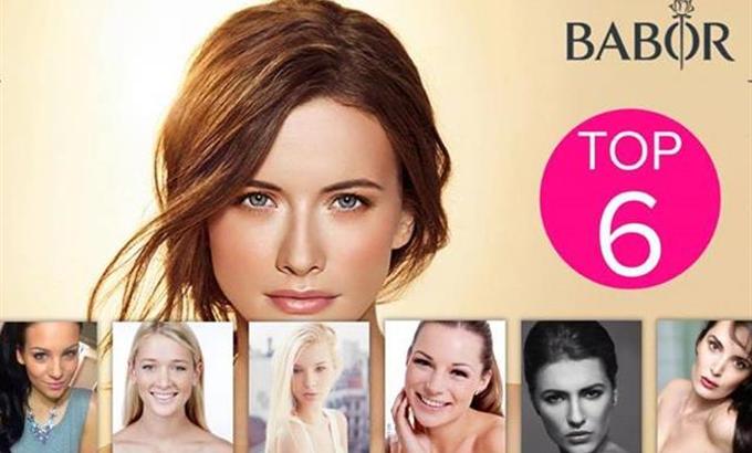 Magyar lányok a Babor Make-up Modellverseny döntőjében