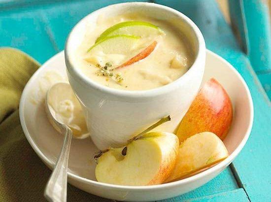 Fűszeres alma-körte leves házi gyümölcsökből