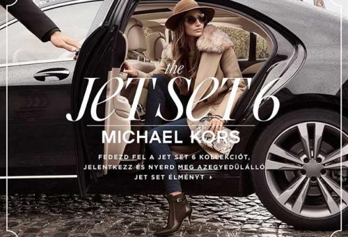 Michael Kors – Jet Set 6 nyereményjáték szabályzat
