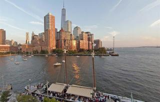 A legjobb vízparti éttermek New Yorkban