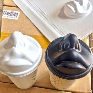 Csókold meg a kávéd! – különleges poharak egy koreai dizájnertől