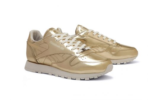 Stílusos arany edzőcipő