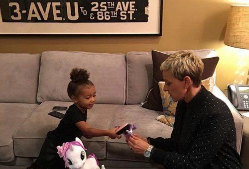 North West, Ellen DeGeneres és egy én kicsi pónim