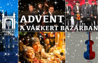 Advent a Várkert Bazárban