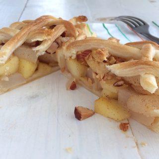 Isteni mini almás-körtés piték