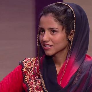 Az afgán lány, akit a rap mentett meg