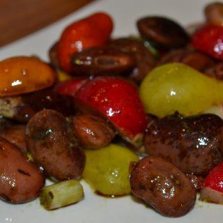 Virágbab saláta őszi verzióban
