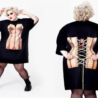 Szupermenő plus-size kollekcióval készül Beth Ditto és Jean Paul Gaultier