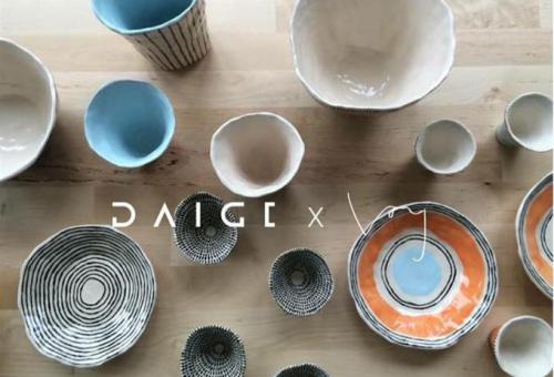 Bemutatkozik a DAIGE x VOY limitált kerámia kollekció