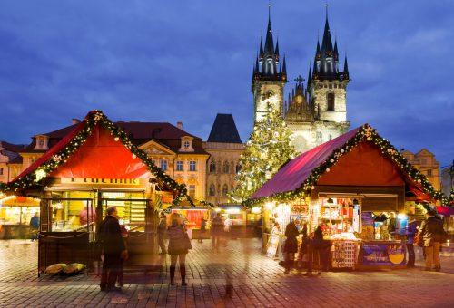 Meseszép karácsonyi vásár Prágában