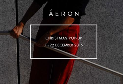 Pop-up store-ral hangol a karácsonyra az Áeron