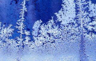 A legszebb jégkép az ablakon!