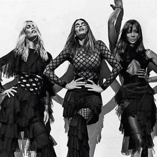 Visszatértek a topmodellek: Cindy, Claudia és Naomi újra együtt