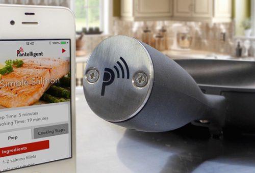 Bluetooth-os serpenyő jelzi, ha elkészült az étel