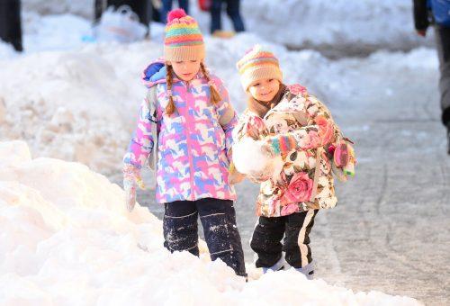 Így játszanak Sarah Jessica Parker ikrei a hóban!
