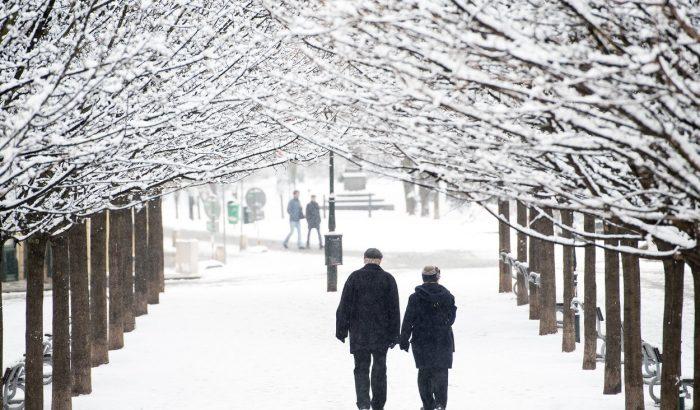 Ilyen jól áll Prágának a tél!