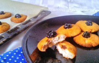 Lisztmentes banános keksz két összetevőből