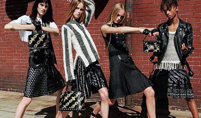 Will Smith fia szoknyában a Louis Vuitton kampányában