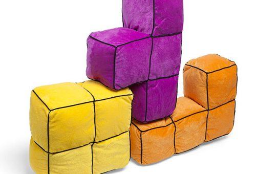 Itt a 3D-s Tetris párna!
