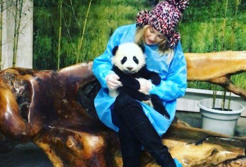 Kate Hudson teljesen odavan a pandákért