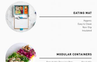 Ebédmenü mobilappal szuperdizájnos uzsonnásdobozban!