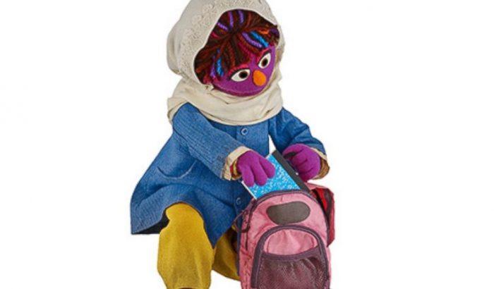 A Sesame Street új karaktere egy afgán kislány