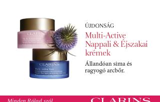Clarins Multi-Active: A 30-as éveidben soha nem állsz le!