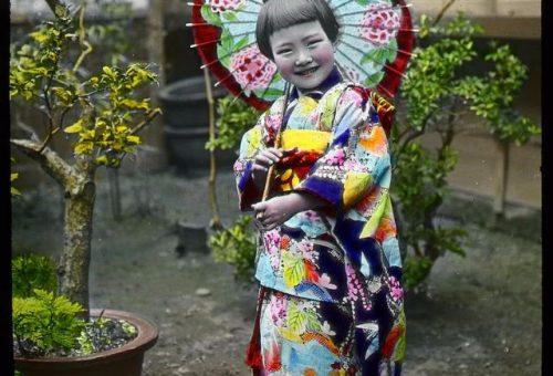 A legcukibb japán kislány – vintage fotó a múltból