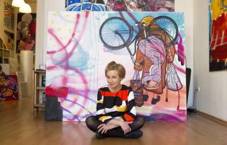 Demokratikus festészet, transzparens szabadság – bemutatjuk Soós Nórát