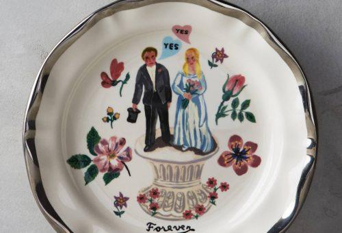 A legcukibb esküvői tányér