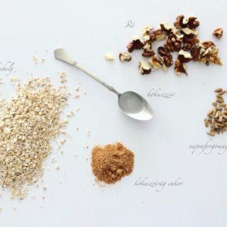 Granola, a ropogósra sült müzli