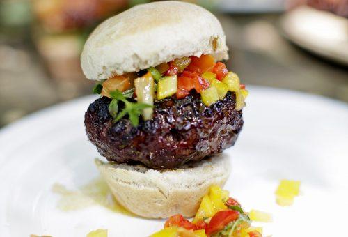 Szaftos házi hamburger Jamie Olivertől