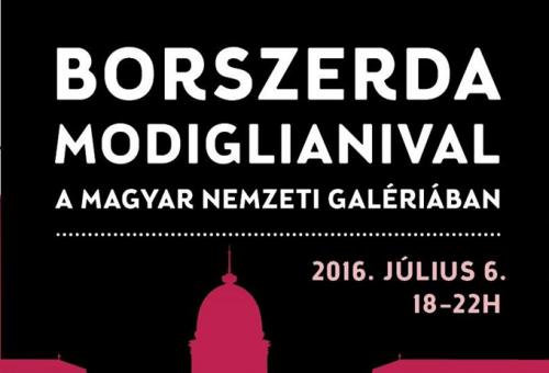 BORSZERDA Modiglianival és Picassóval