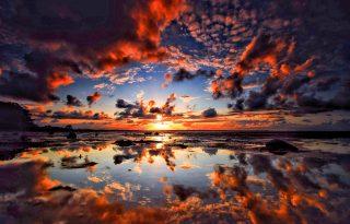 Hihetetlen naplemente