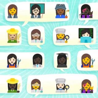 Itt vannak a feminista emojik