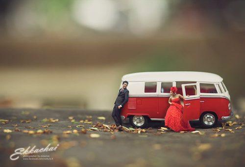 Szürreális thaiföldi esküvői fotók
